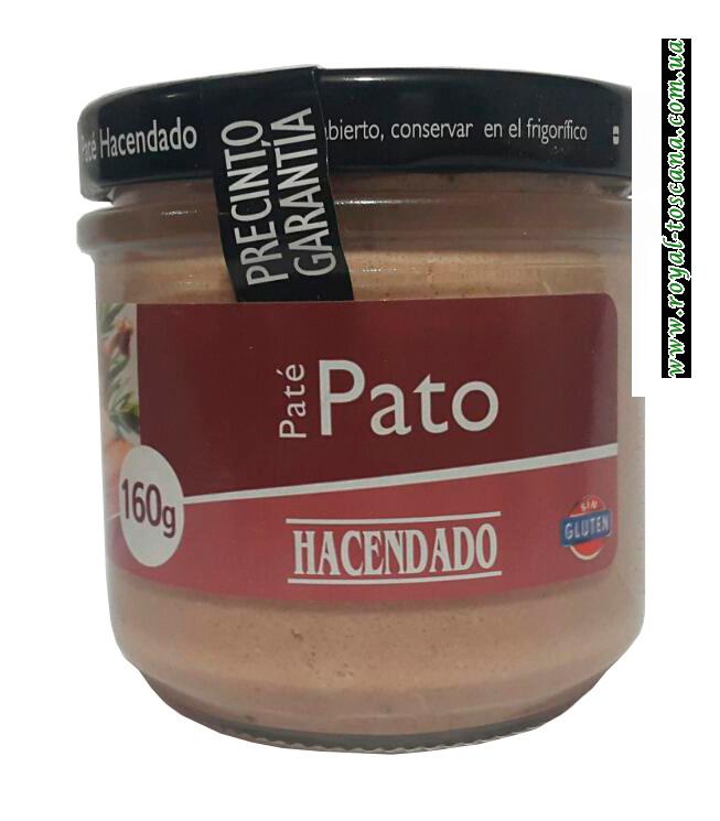 Паштет Hacendado Pate Pato