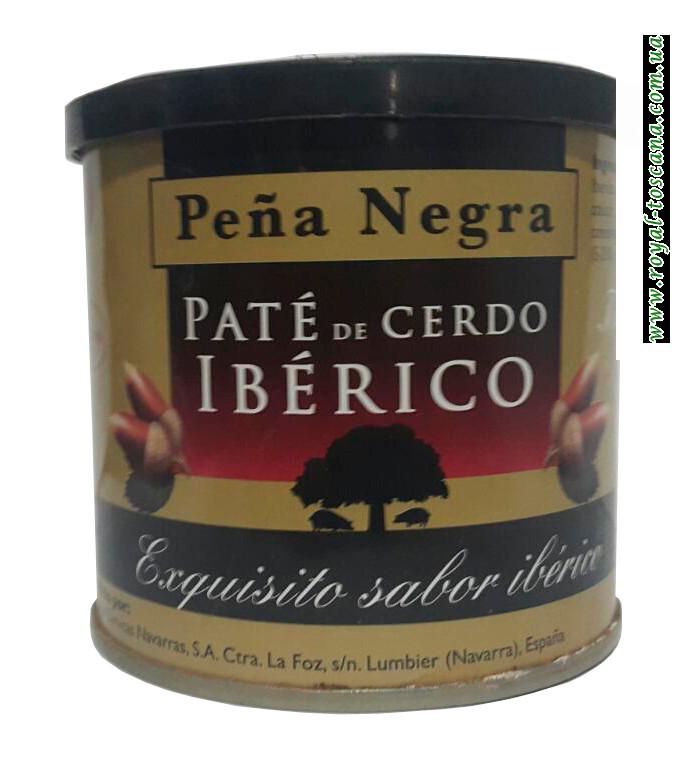 Паштет из мяса иберийской свиньи Pena Negra Pate de Cerdo Iberico