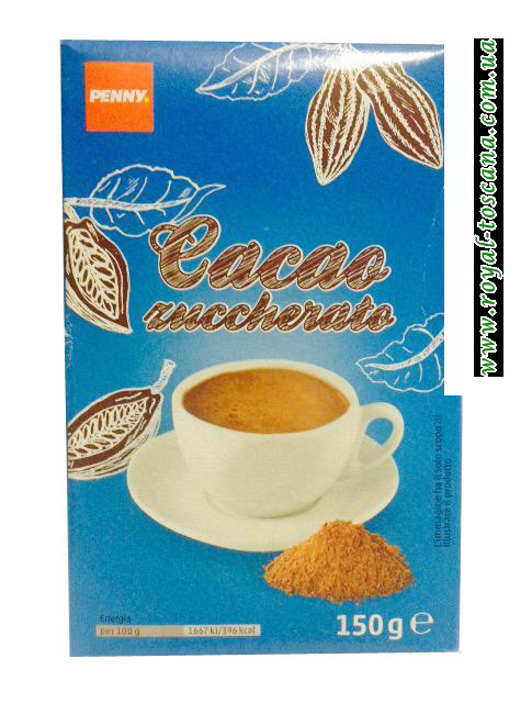Какао-порошок Penny Cacao Zuccherato