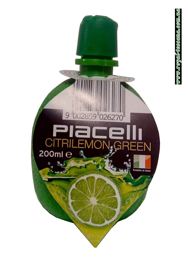 Сок лайма Piacelli Citrilemon Green