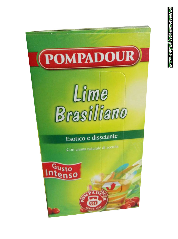 Чай Pompadour Lime Brasiliano