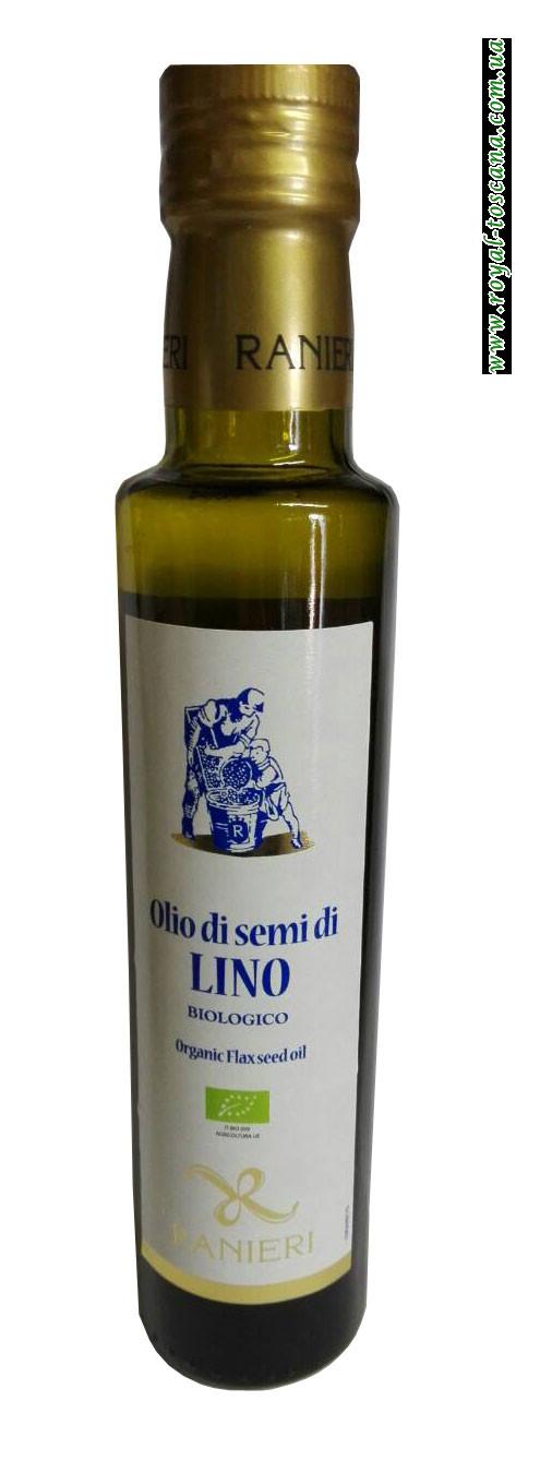 Льняное органическое масло Ranieri Olio di semi di Lino Biologico