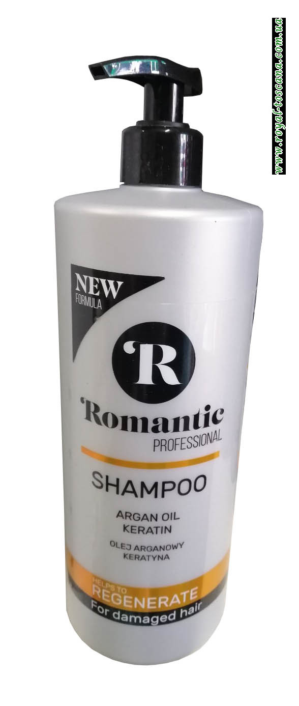 Шампунь для поврежденных волос, регенерирующий Romantic Professional Regenerate