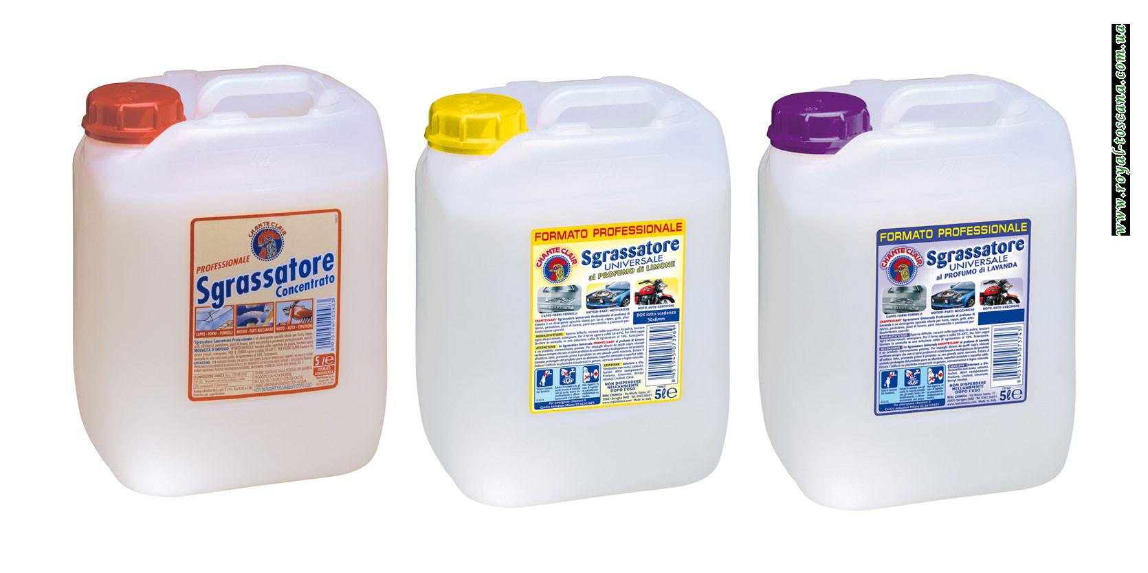Универсальное чистящее средство ChanteClair Sgrassatore Universale Канистра в ассортименте.