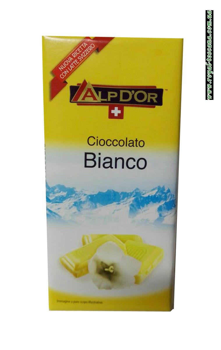 Шоколад белый AlpDor Cioccolato Bianko