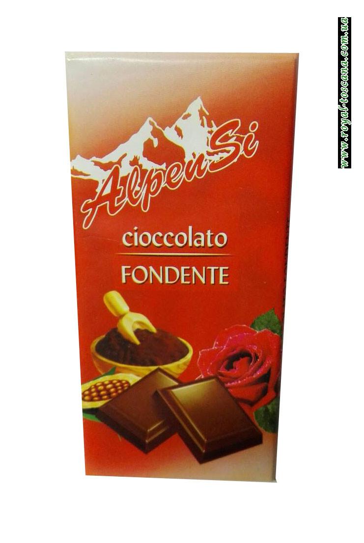 Шоколад черный AlpenSi Cioccolato Fondente