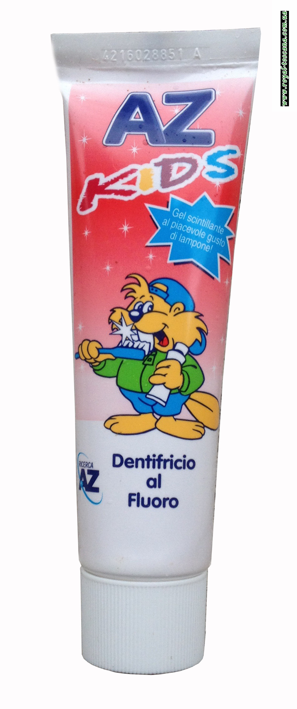 Детская зубная паста AZ