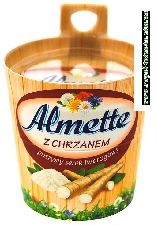 Сыр Almette z Chrzanem