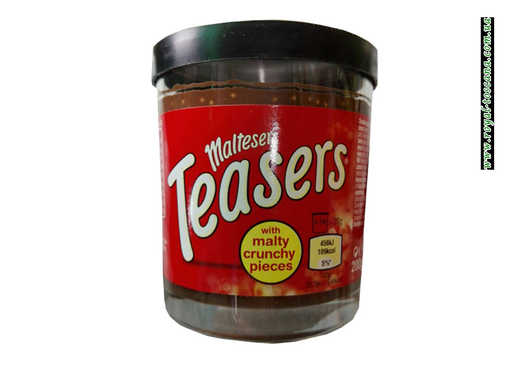 Maltesers Teasers – шоколадная паста, 200г.