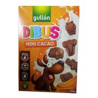 Печенье Gullon Dibus Mini Cocoa 250г