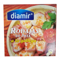 Осьминог в томатном соусе Diamir Rodajas De Pota a la gallega, 266 г.