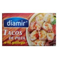 Осьминог кусочками в томатном соусе Diamir Tacos De Pota a la gallega, 111 г.
