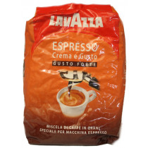 Кофе в зернах Lavazza Espresso Crema e Gusto Forte (20% арабики, 80% робусты)