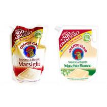 Гель для стирки с мылом Marsiglia ChanteClair Profumo, запаски, 1.0 л + 250мл. (22 стирок)