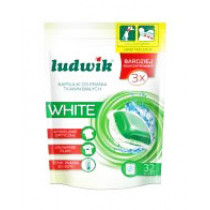 Капсулы для стирки Ludwik White, 32шт