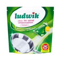 Капсулы для посудомоечных машин Ludwik, 25 шт